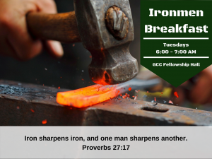 Ironmen Breakfast @ GCC Fellowship Hall
